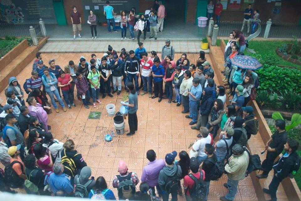 Educación ambiental en universidades. - Foto por MEE