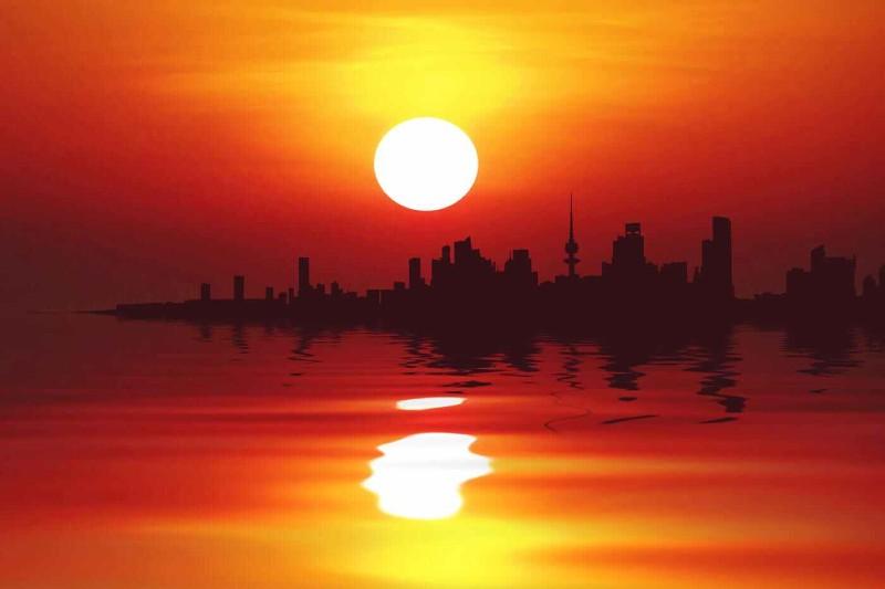 Kuwait ha registrado las peores temperaturas del mundo