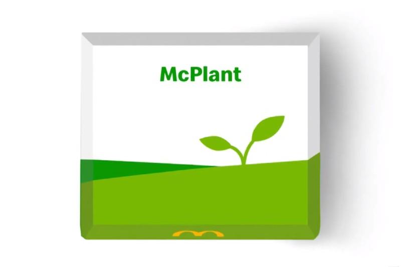 McPlant es la nueva hamburguesa a base de plantas de McDonalds
