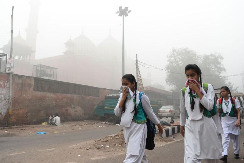 Nueva Delhi tiene la peor contaminación del aire del año