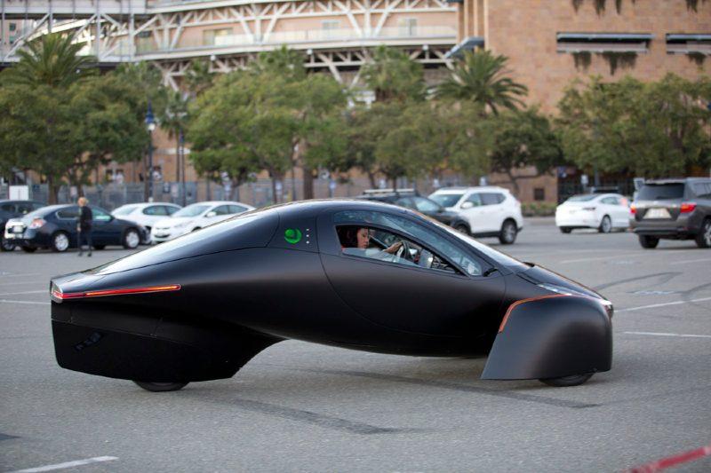 Aptera: el automóvil solar que no necesita carga