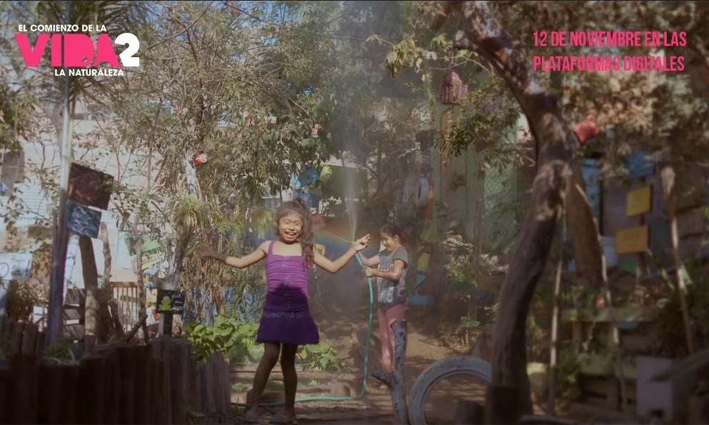 El comienzo de la Vida 2: La Naturaleza muestra una perspectiva de los niños con su entorno natural - Foto por Maria Farinha Filmes/Youtube