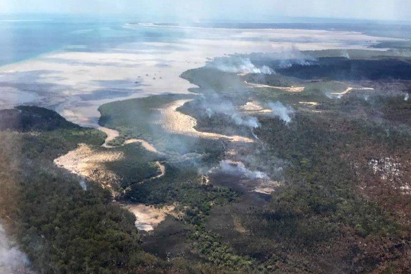 Patrimonio mundial de Australia bajo amenaza por incendio forestal