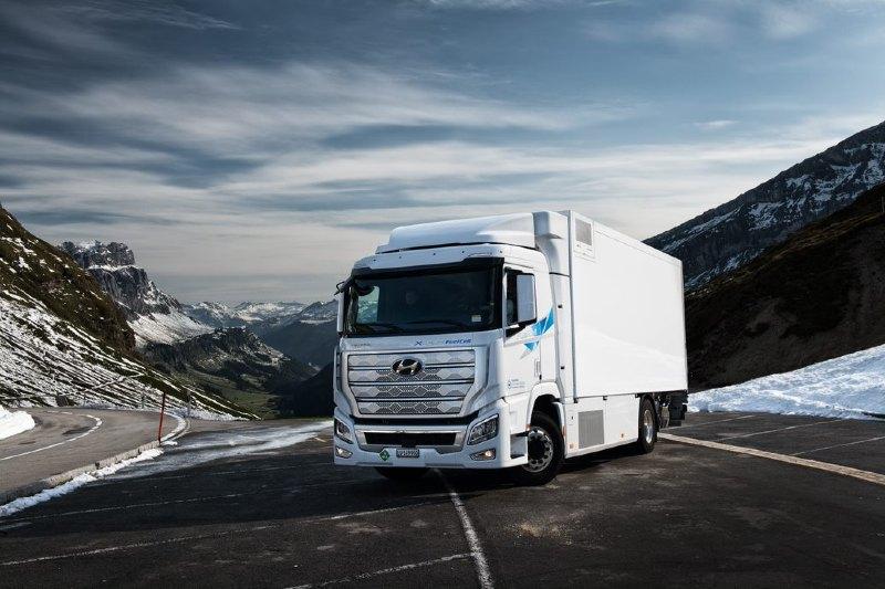 Suiza tendrá sus primeros camiones de hidrógeno