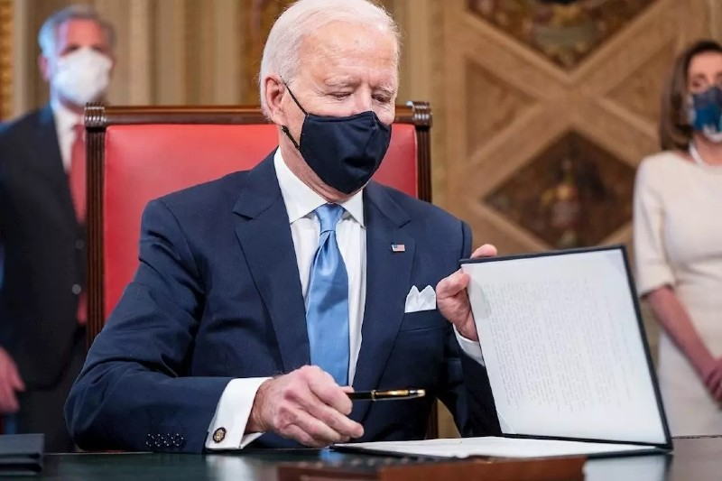 Biden reincorpora a Estados Unidos al Acuerdo de París