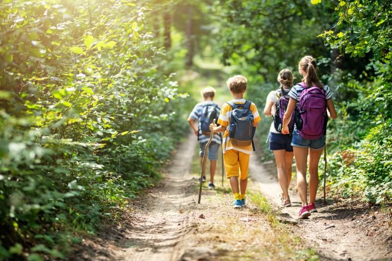 Una infancia basada en la naturaleza beneficia la salud de nosotros y del planeta