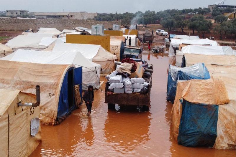 Campamentos de desplazados internos en Siria quedan completamente destruidos