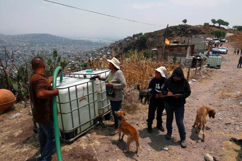Problemas de agua en la Ciudad de México