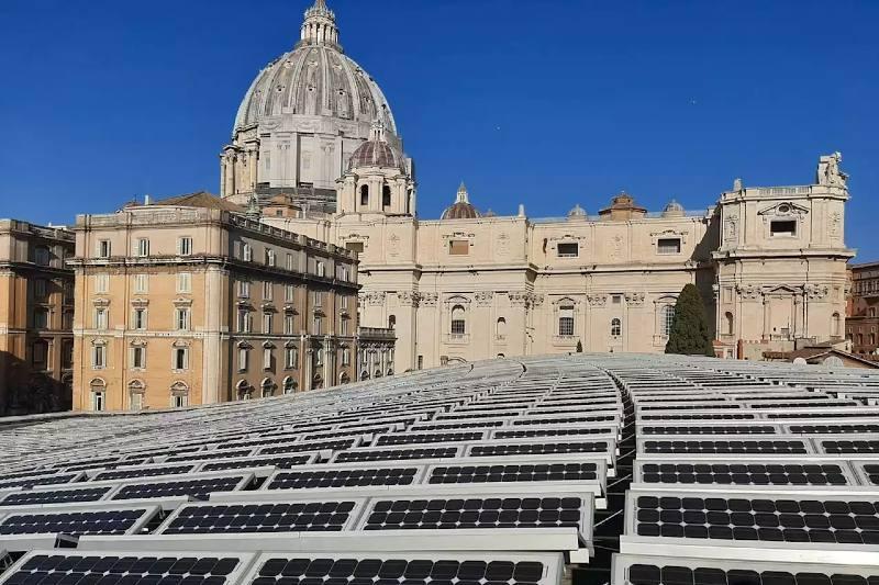 El Vaticano da el ejemplo de ser carbono neutro