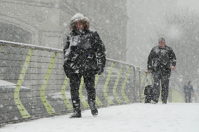 Vórtice polar provocará un fuerte invierno