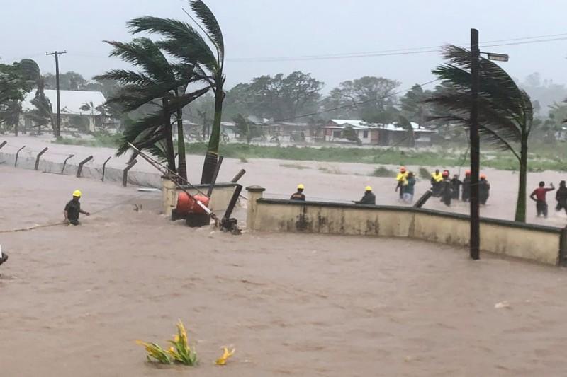 Fiyi es golpeado por su segundo ciclón en el mes