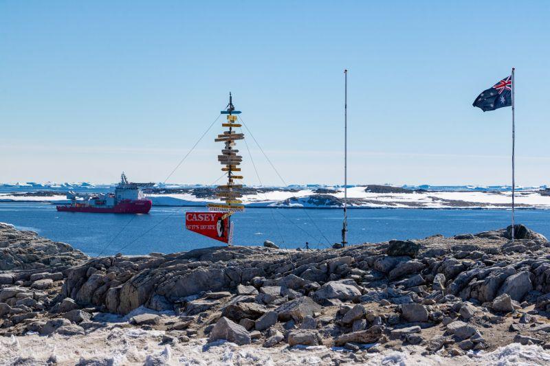 Perforación en el hielo antártico para nuevos registros climáticos
