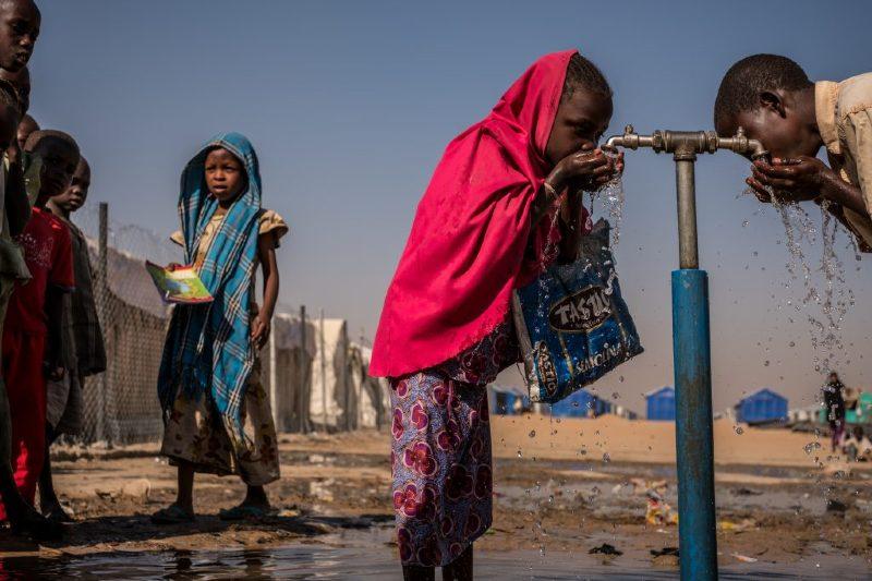 Reporte de acceso al agua para 2030