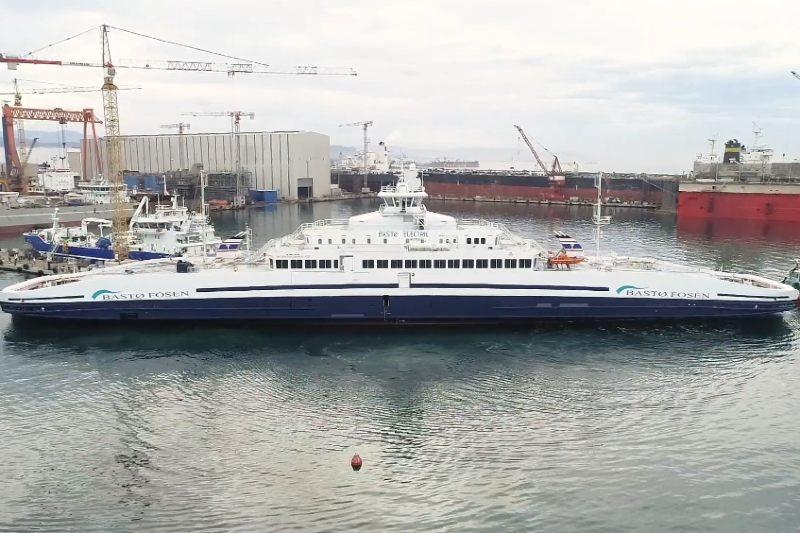 Noruega lanza el ferry eléctrico más grande del mundo