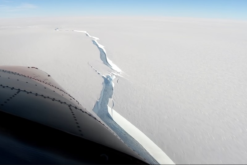 Se desprende iceberg más grande que manhattan de la Antártida