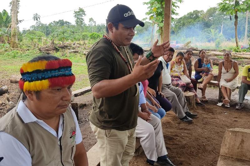 Pueblos indígenas de la Amazonía exigen más protección de sus recursos