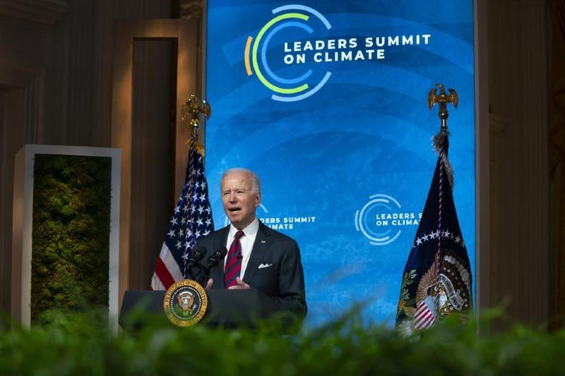 Cumbre climática en la Casa Blanca reúne líderes mundiales