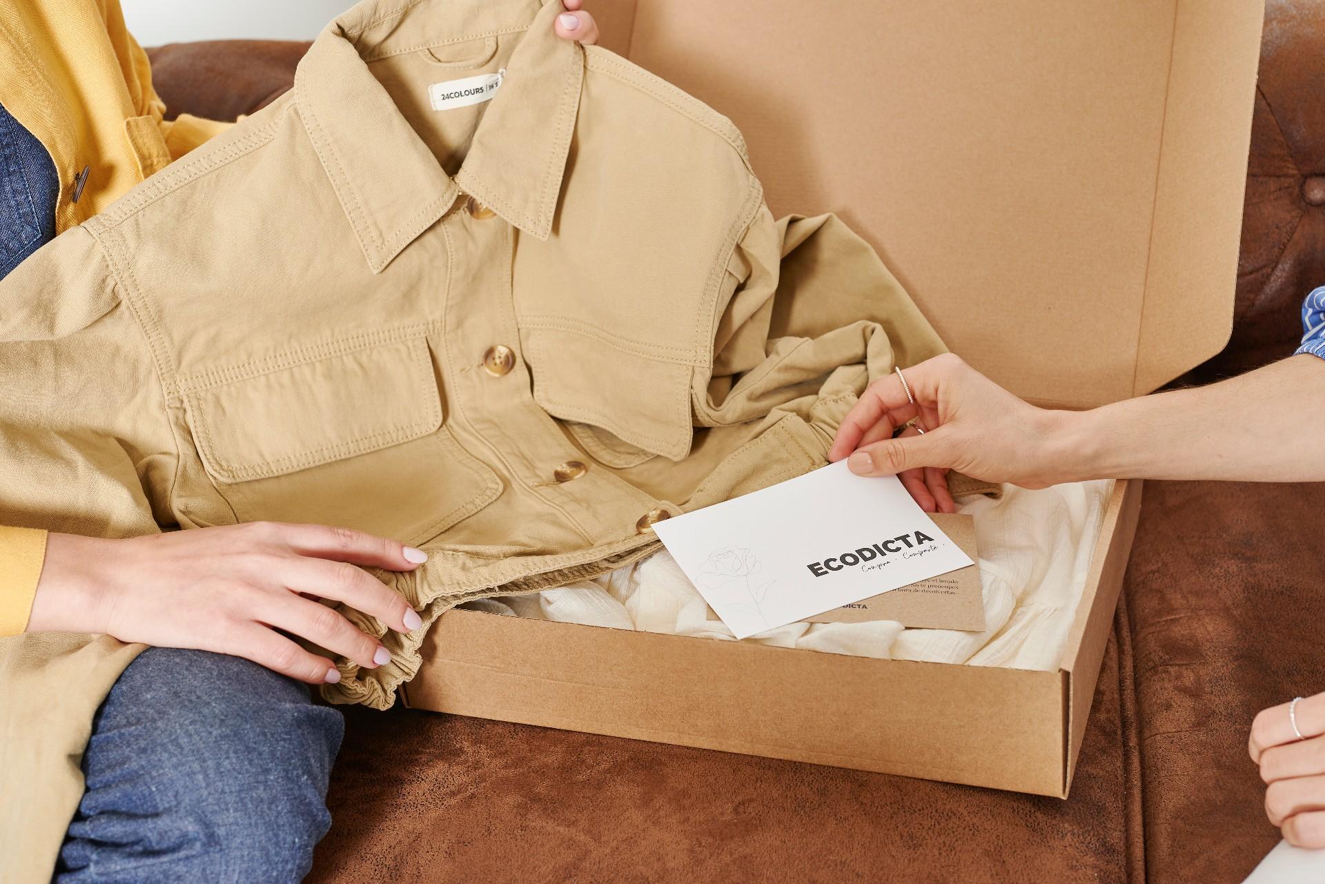 Caja mensual con suscripción - Foto Ecodicta