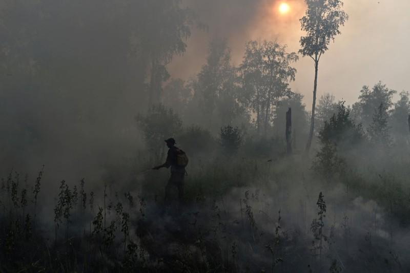 Incendios del ártico y deshielo del permafrost afectan el clima