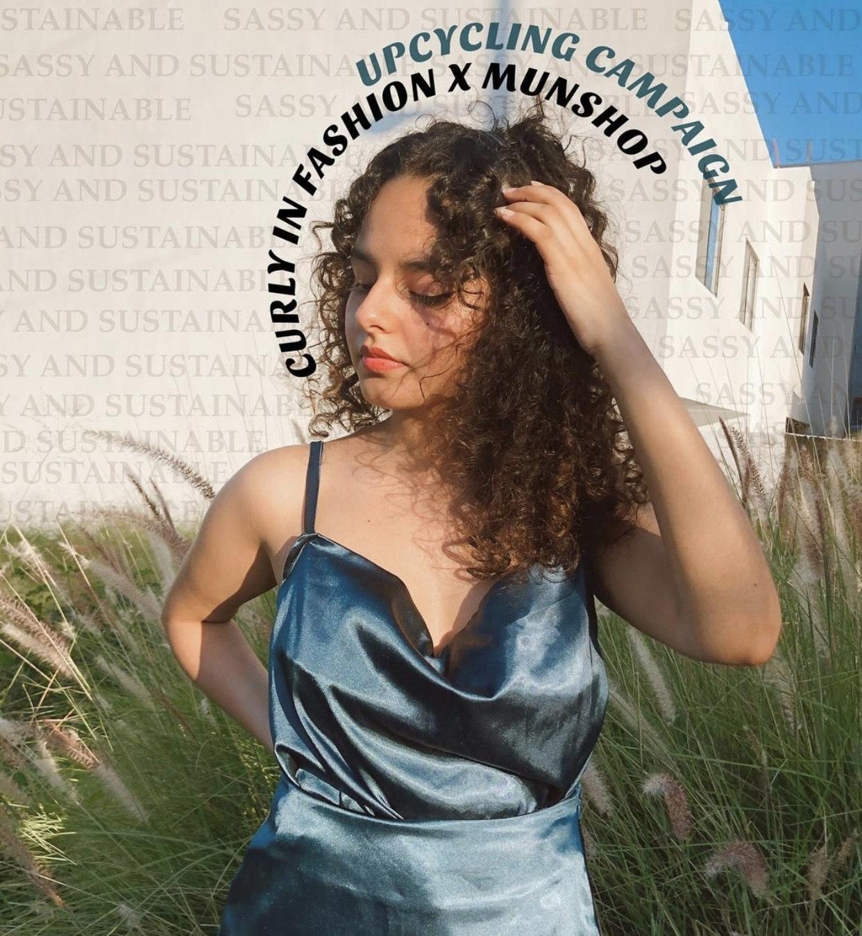 Presentación de diseños propios en la Facultad de Artes Visuales en la Universidad Autónoma de Nuevo León - Foto por Curly In Fashion