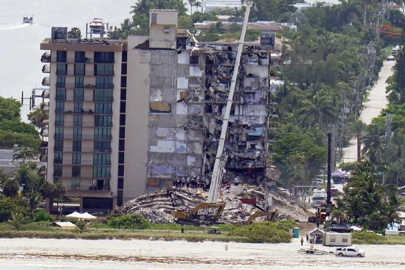Hundimiento de condominios en Miami podría estar relacionado al cambio climático