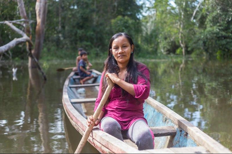 Galardonan activista peruana por salvar parque nacional