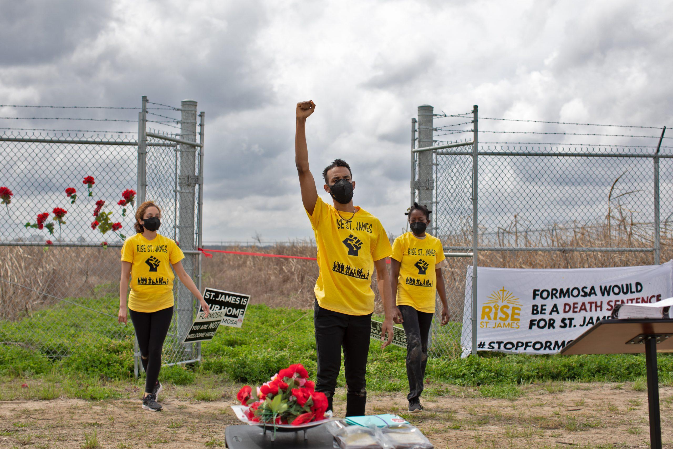 Defensores ambientales para cerrar la planta contaminante - Foto Goldman Environmental Prize