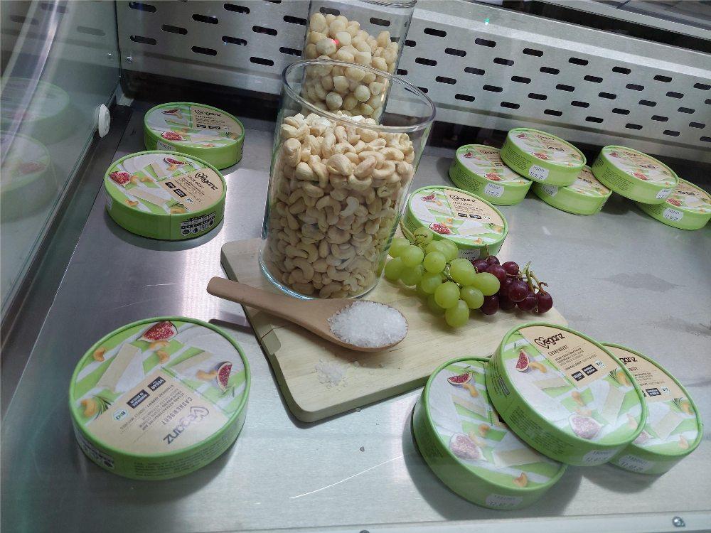 Veganz ofrece mantequilla producida a base de semillas de marañon - Foto por Anisa B/Futuro Verde