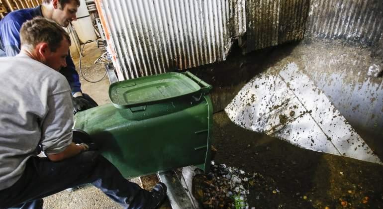 planta de biogas - Foto por Reuters