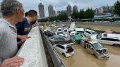 Inundaciones en China destruyen ciudades