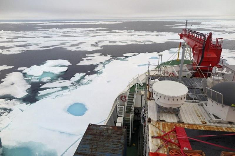Se está derritiendo la última zona de hielo del Ártico