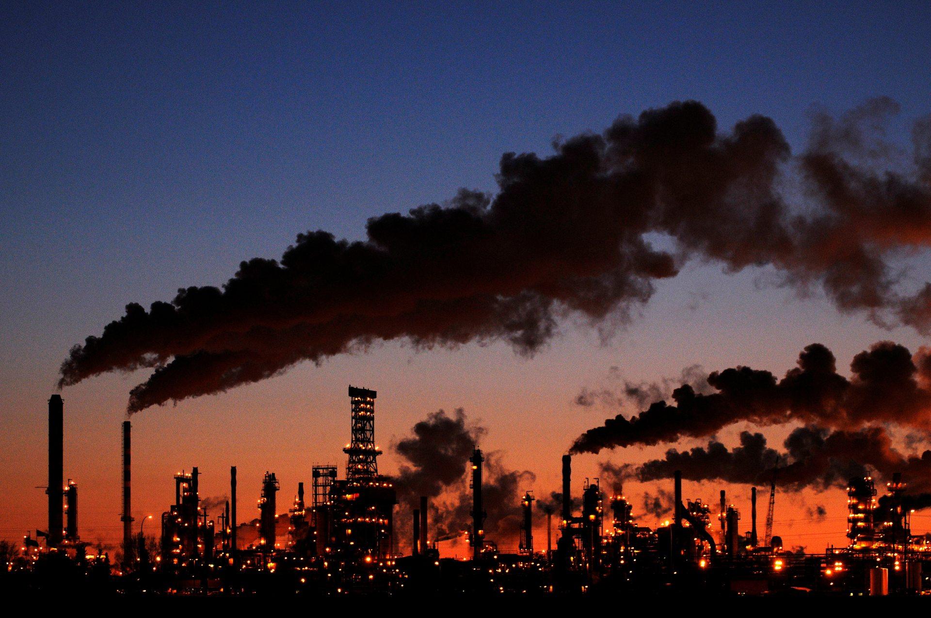 Central de carbono productora de energía de combustibles fósiles. - Dan Riedlhuber/Reuters
