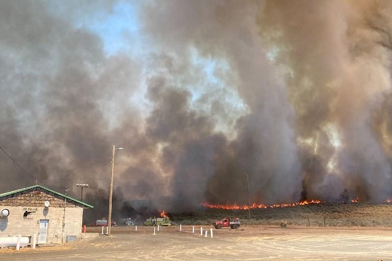 Ola de calor extrema causa incendios forestales en Canadá