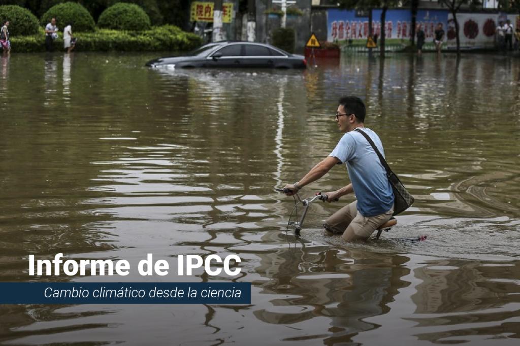 El sexto informe del cambio climático del IPCC muestra futuros escenarios para los océanos.