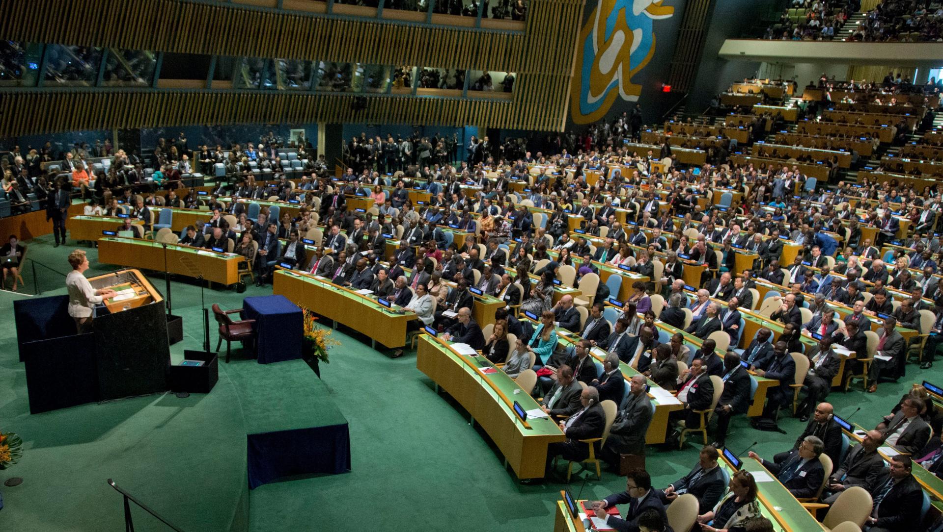 Líderes mundiales en las decisiones climáticas - Foto Mary Altaffer/AP