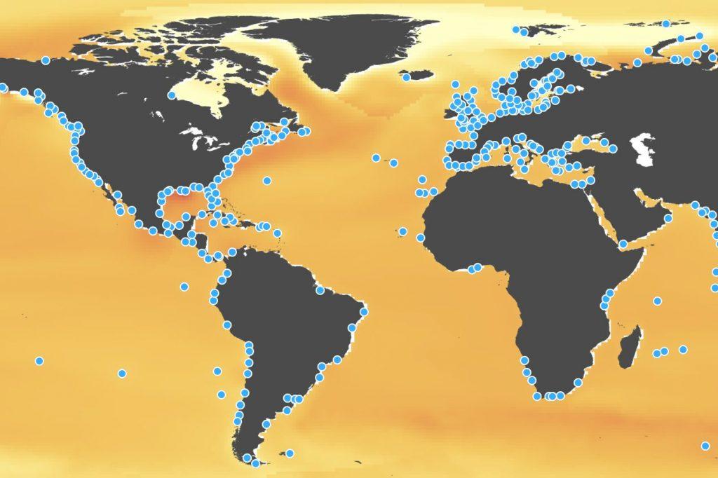 Con el informe del IPCC, la NASA ha lanzado una plataforma para visualizar los escenarios del nivel del mar.