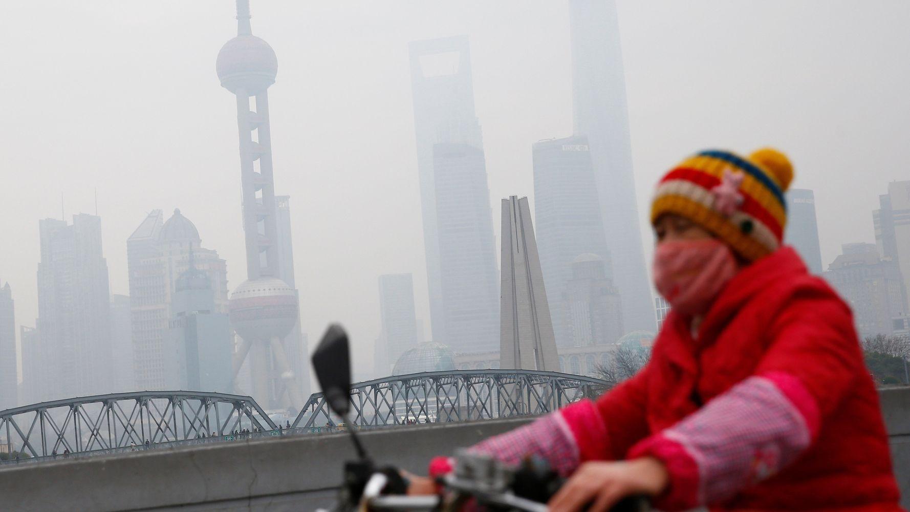 Contaminación del aire en las ciudades. - Foto Aly Song/Reuters
