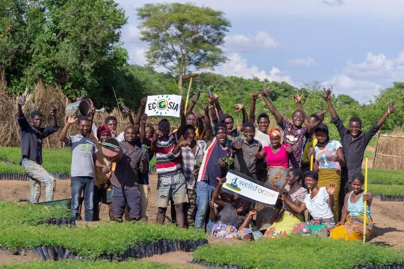 Ecosia es el motor de búsqueda que ayuda a combatir la crisis climática.