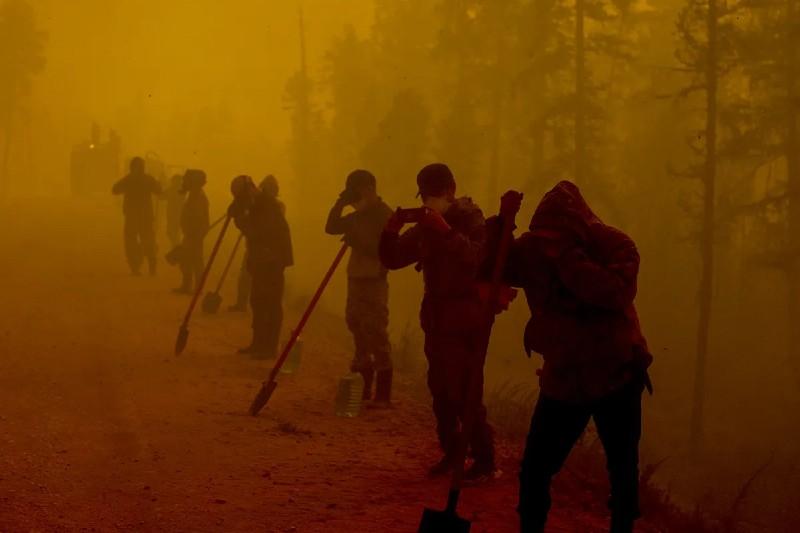 Siberia: incendios forestales cubren de humo a mil pueblos