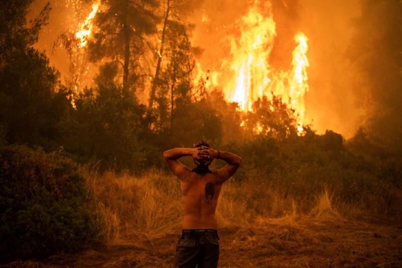 Incendios forestales y olas de calor impactan Grecia, Turquía e Italia