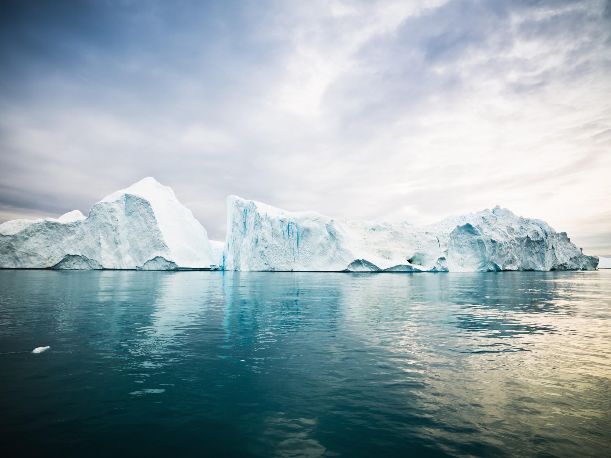 Las nubes, glaciares y el océano regulan la absorción de energía solar. - Foto Mlenny/Getty