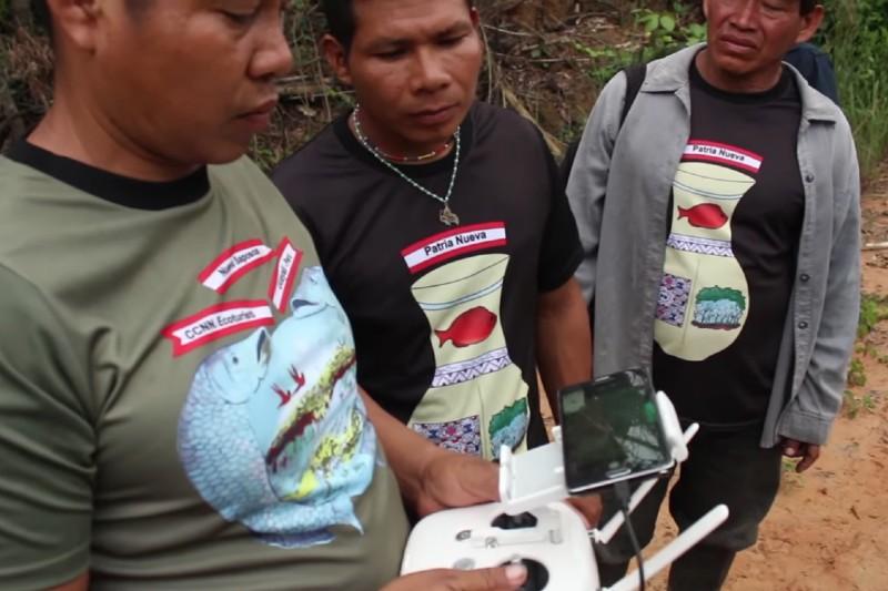 Nuevas tecnologías en la Amazonía ayudan a combatir la deforestación