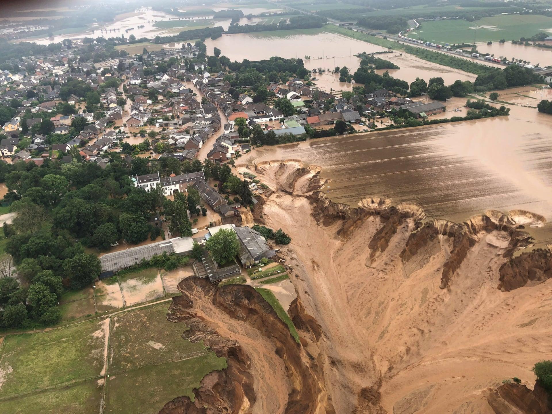 Fuertes precipitaciones e inundaciones - Foto Rhein-Erft-Kreis Handout/EPA