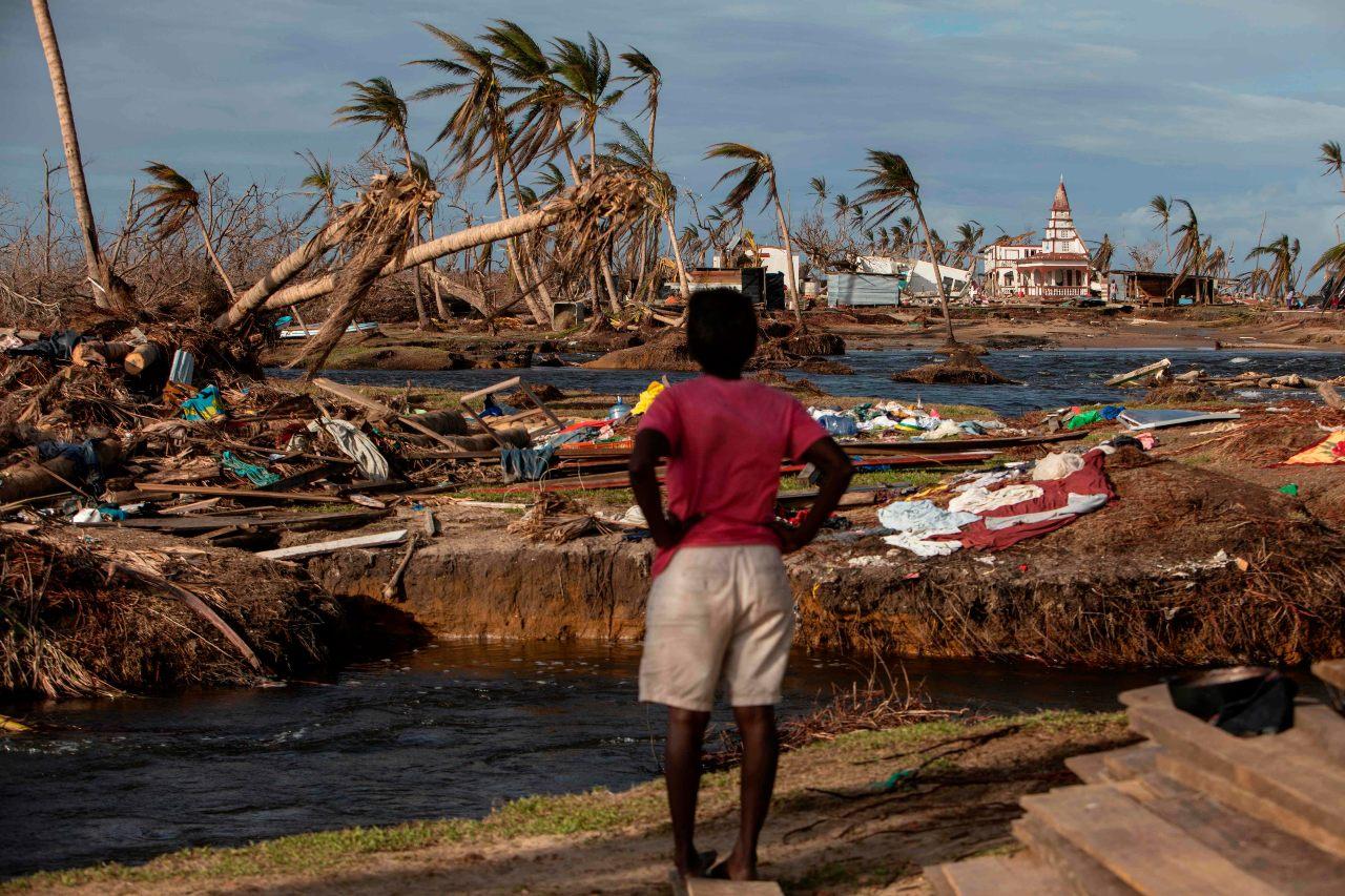 Las comunidades de escasos recursos son las más vulnerables a los desastres naturales.