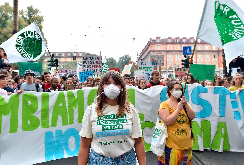 Fridays for Future une a todos los jóvenes activistas climáticos del mundo. - Foto Alessandro Di Marco / AP