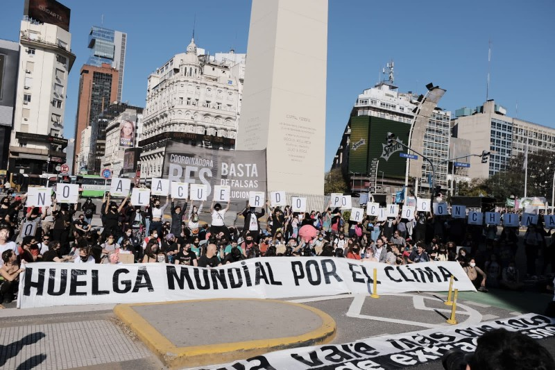 Huelga climática en Argentina - Foto ngridurrut/Twitter