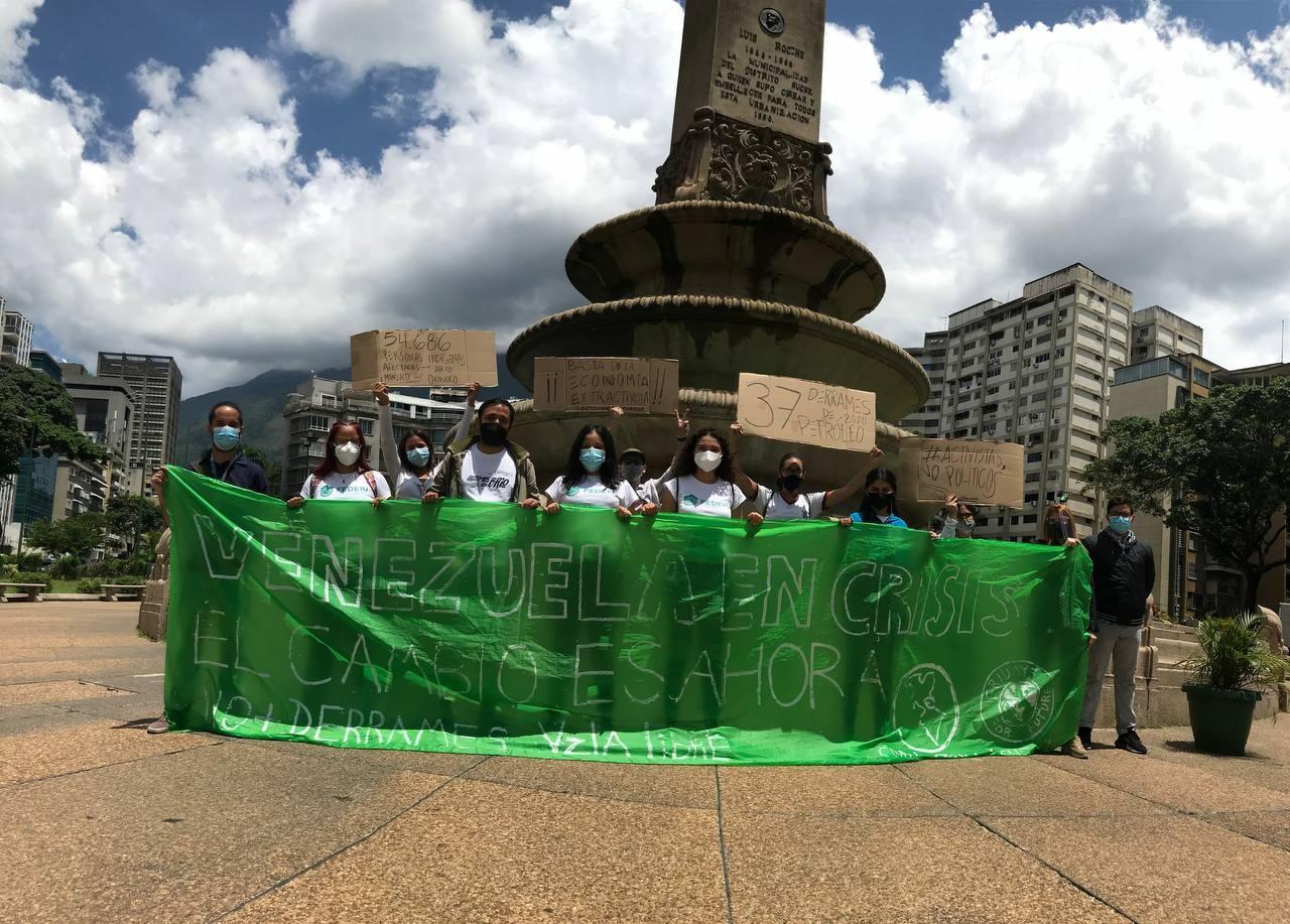 Huelga por el clima en Venezuela - Foto GreenpeaaceBR/Twitter