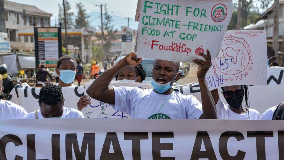 Huelga por el clima en Kenia - Foto Brian Ongoro/AFP/Getty
