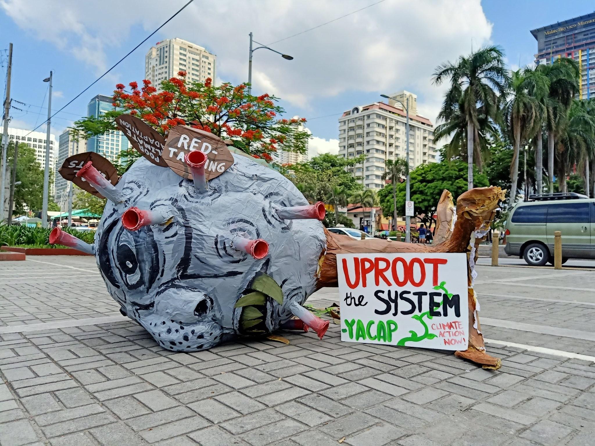 Huelga por el clima en Manila, Filipinas - Foto FFFMAPA/Twitter