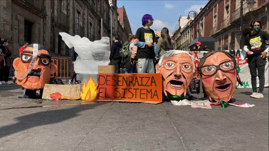 Huelga por el clima en México - Foto FFFmex/twitter